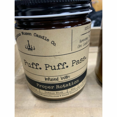 Puff puff pass candle