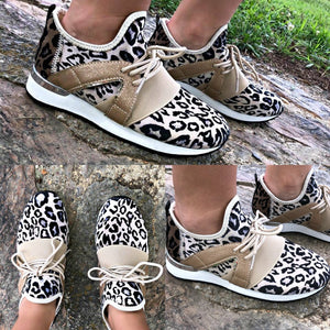 Leopard Sneakers (2 colors) - Gabriel Clothing Company