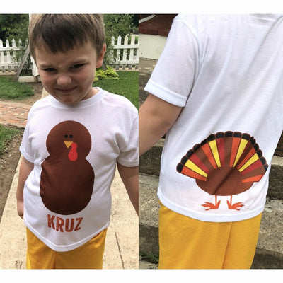 Turkey Personalized Kids/Infant Tee