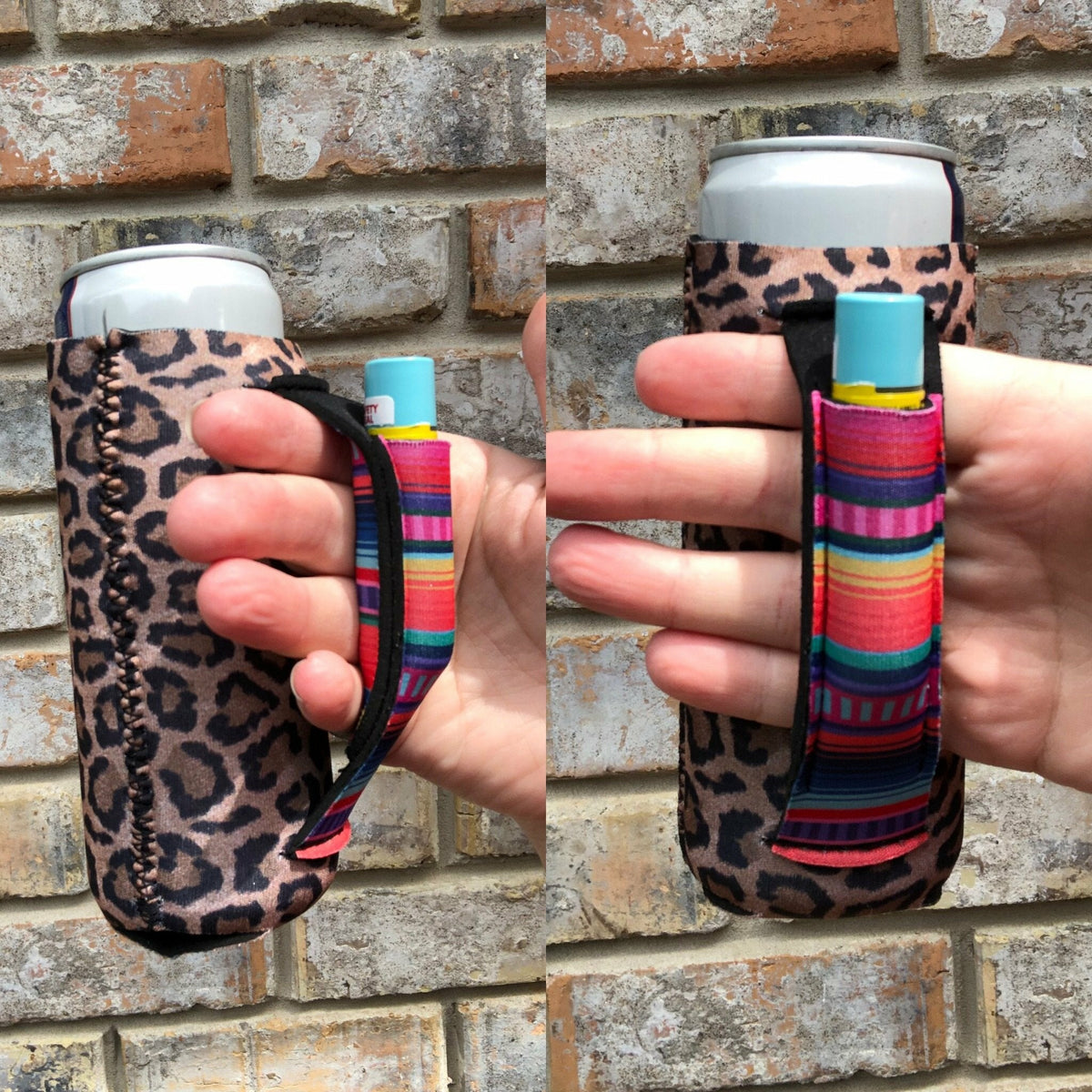 Leopard with Serape Slim Pocket