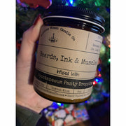 Beards,Ink & Muscles candle