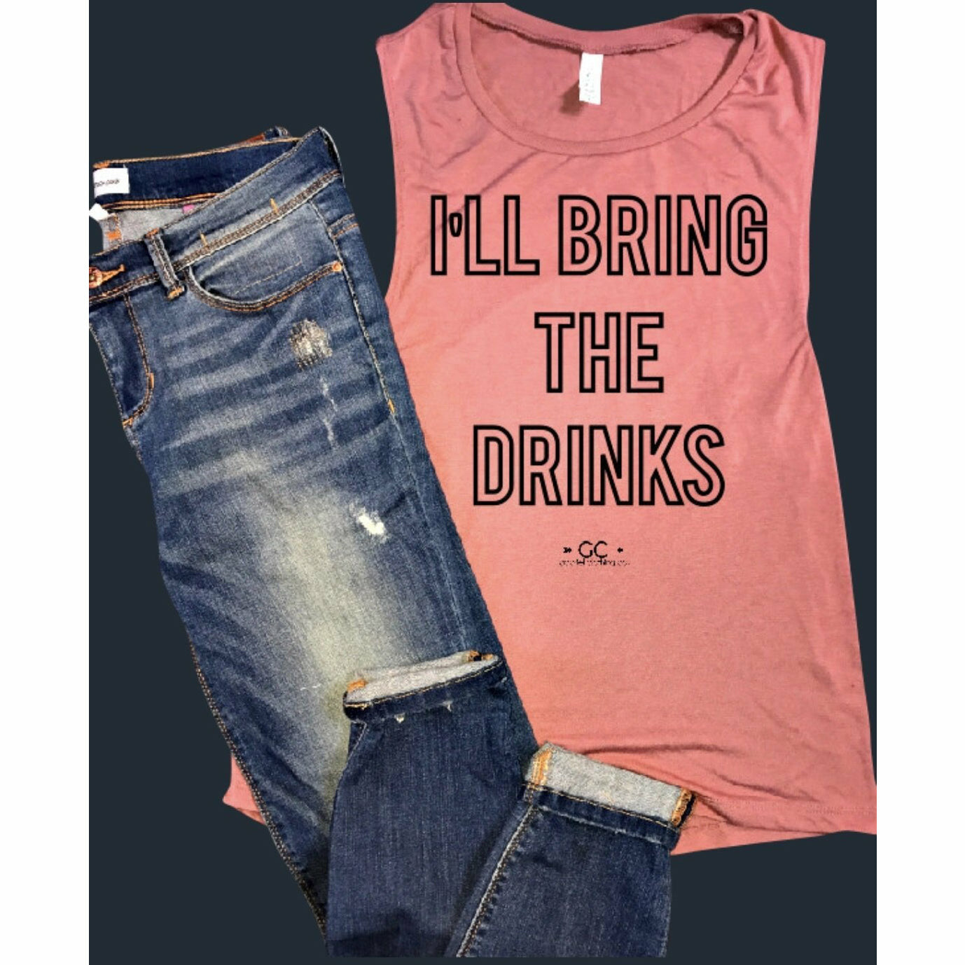 I'll Bring the Drinks Tank/Tee - Gabriel Clothing Company