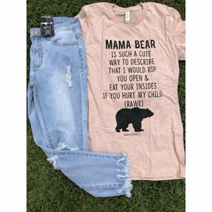 Mama Bear is a good way Tee - Gabriel Clothing Company