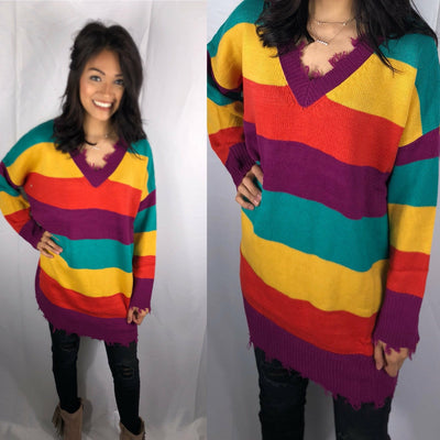 Many Colors Tunic