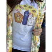 Sunflower Liquor Tee or Tank
