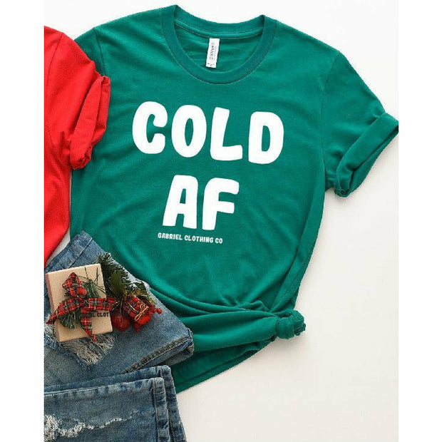 Cold AF Tee - Gabriel Clothing Company