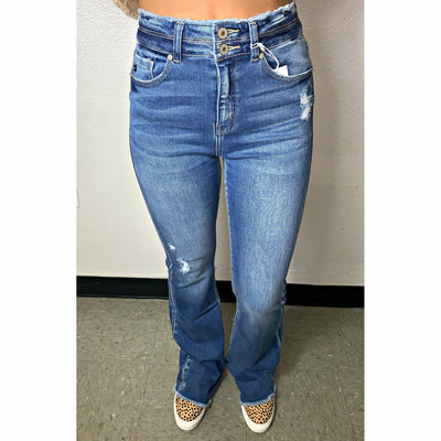 Kancan Light wash Bells Denim
