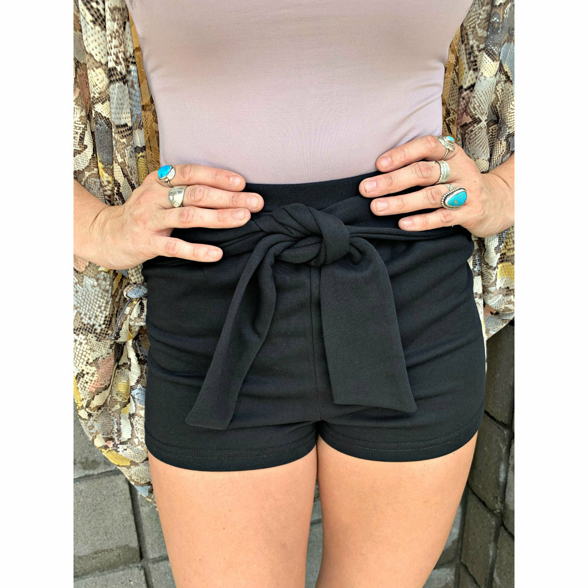 Comfy Soft Tie Shorts ( 3 colors)