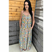 Red Dirt Dancin' Maxi Dress