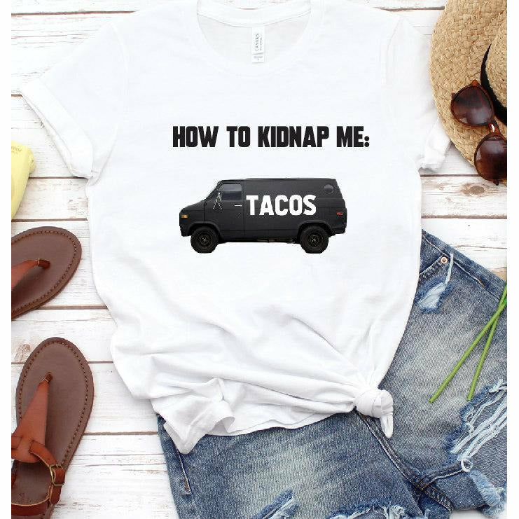 How to kidnap me Tank or Tee