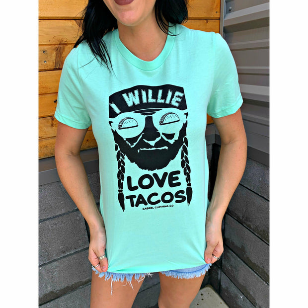 I willie love tacos tee