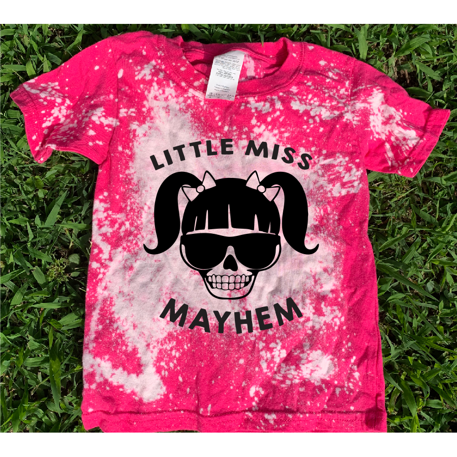 Lil Miss Mayhem Distressed Youth/Toddler Tee