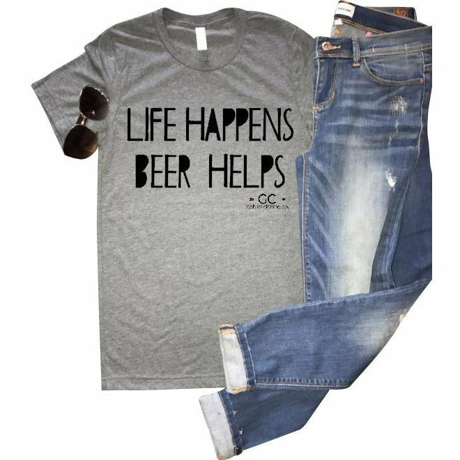 Beer Helps - Gabriel Clothing Company