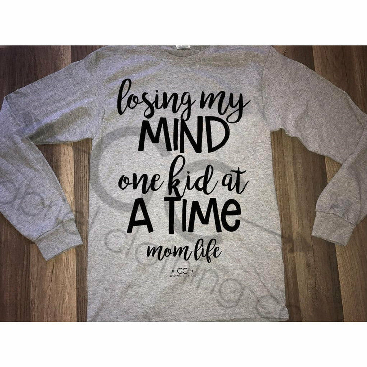 Losing my mind Long sleeve - Gabriel Clothing Company