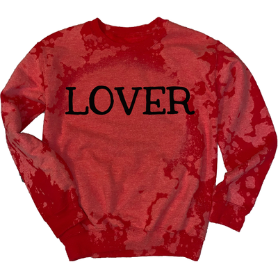 Lover Distressed Sweatshirt