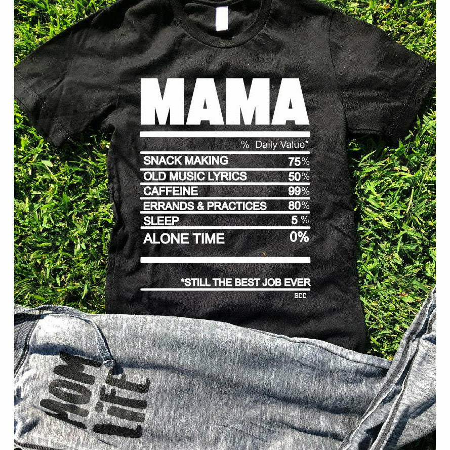 Mom Ingredients tee
