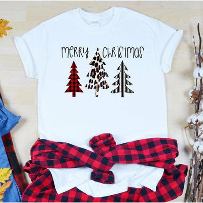 Merry Christmas Tree Tee/Sweatshirt/Longsleeve