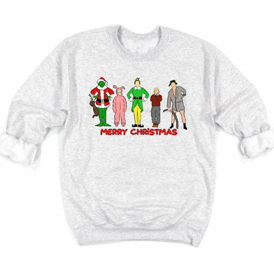Merry Christmas Character ThemedSweatshirt/tee or long sleeve