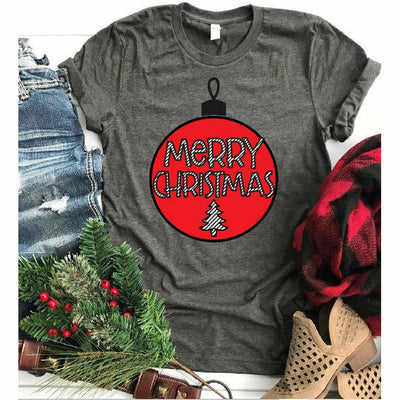 Merry Christmas Ornament Tee
