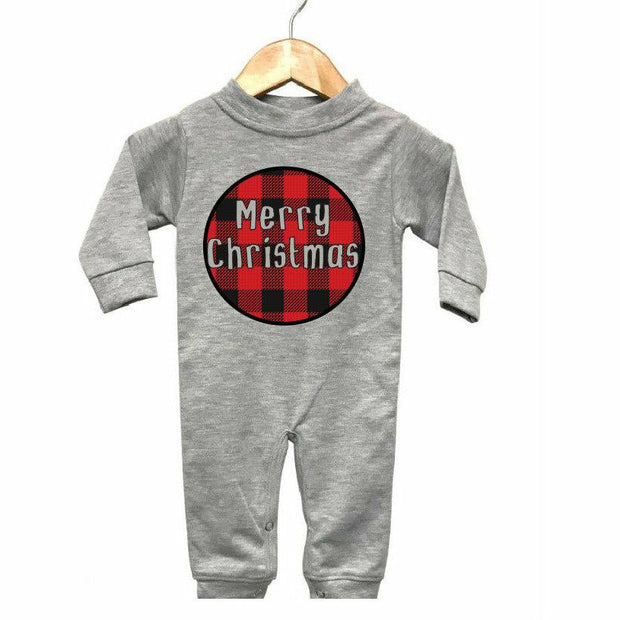 Merry Christmas Infant Play suit