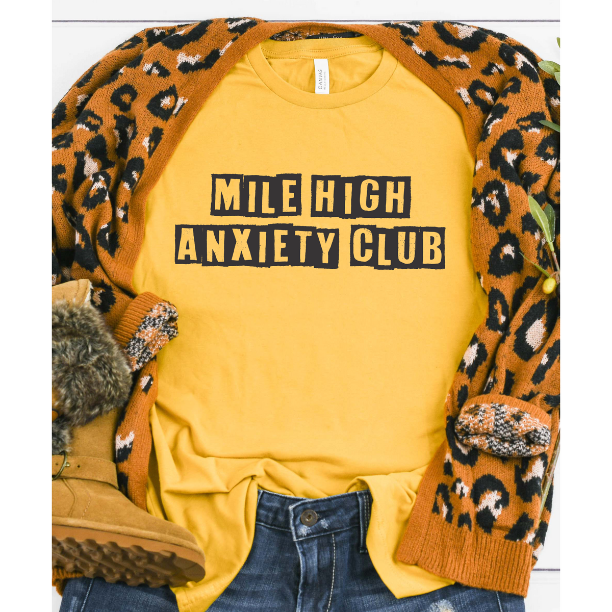 Mile High Anxiety Club Tee