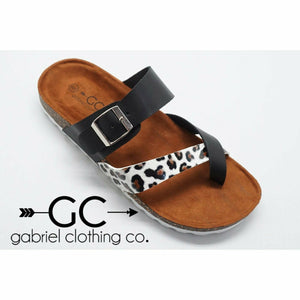 The Wild One Sandals (pre-order) - Gabriel Clothing Company