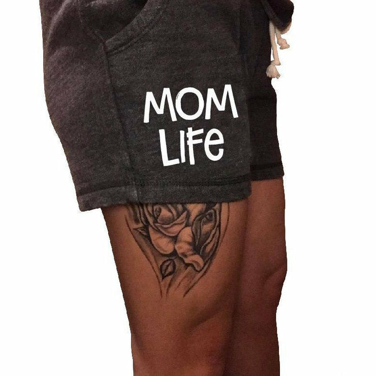 Mom Life Shorts ( new colors) - Gabriel Clothing Company