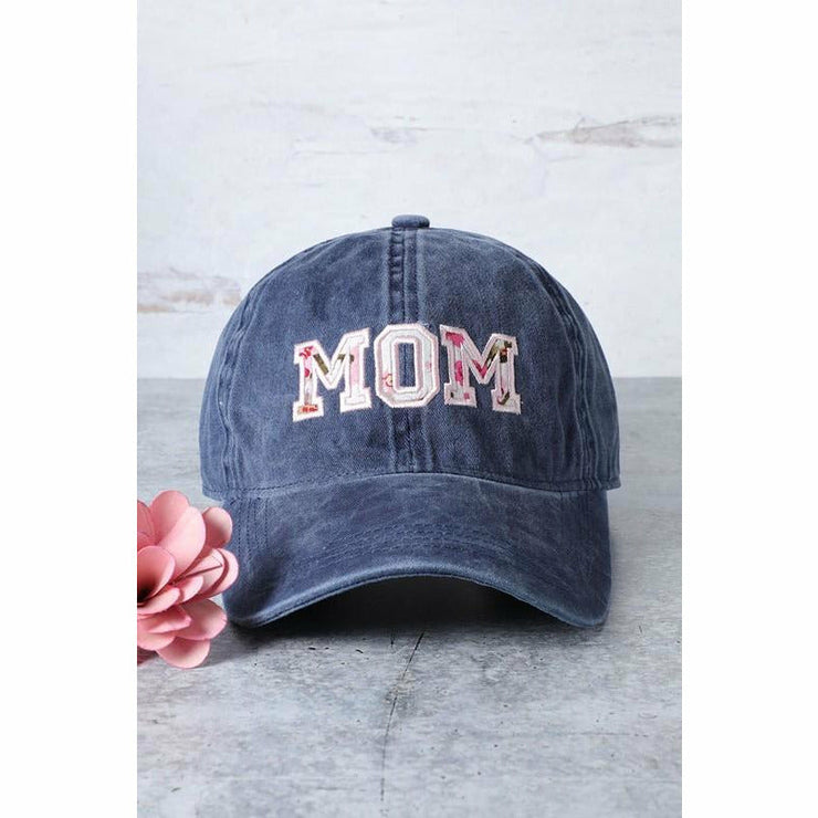 Mom Embroidered Cap