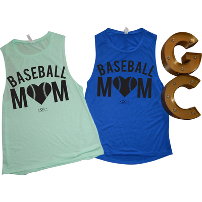 Baseball mom Tank top - Gabriel Clothing Company