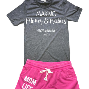 making Money & Babies # boss mama - Gabriel Clothing Company