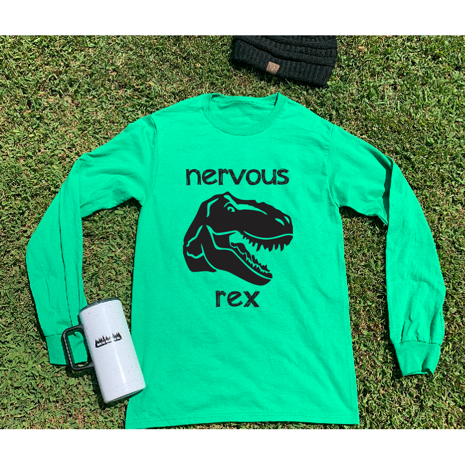 Nervous Rex Long Sleeve OR Tee