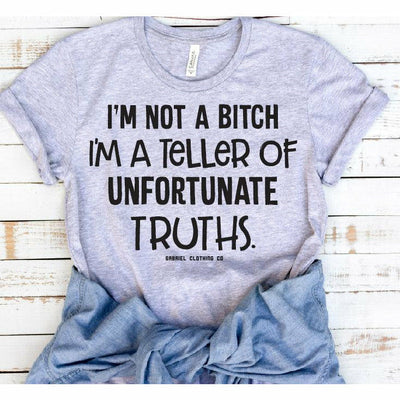Teller of Unfortunate truths tee
