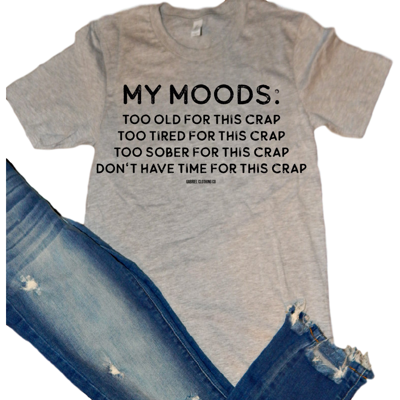 My Moods Tee - Gabriel Clothing Company