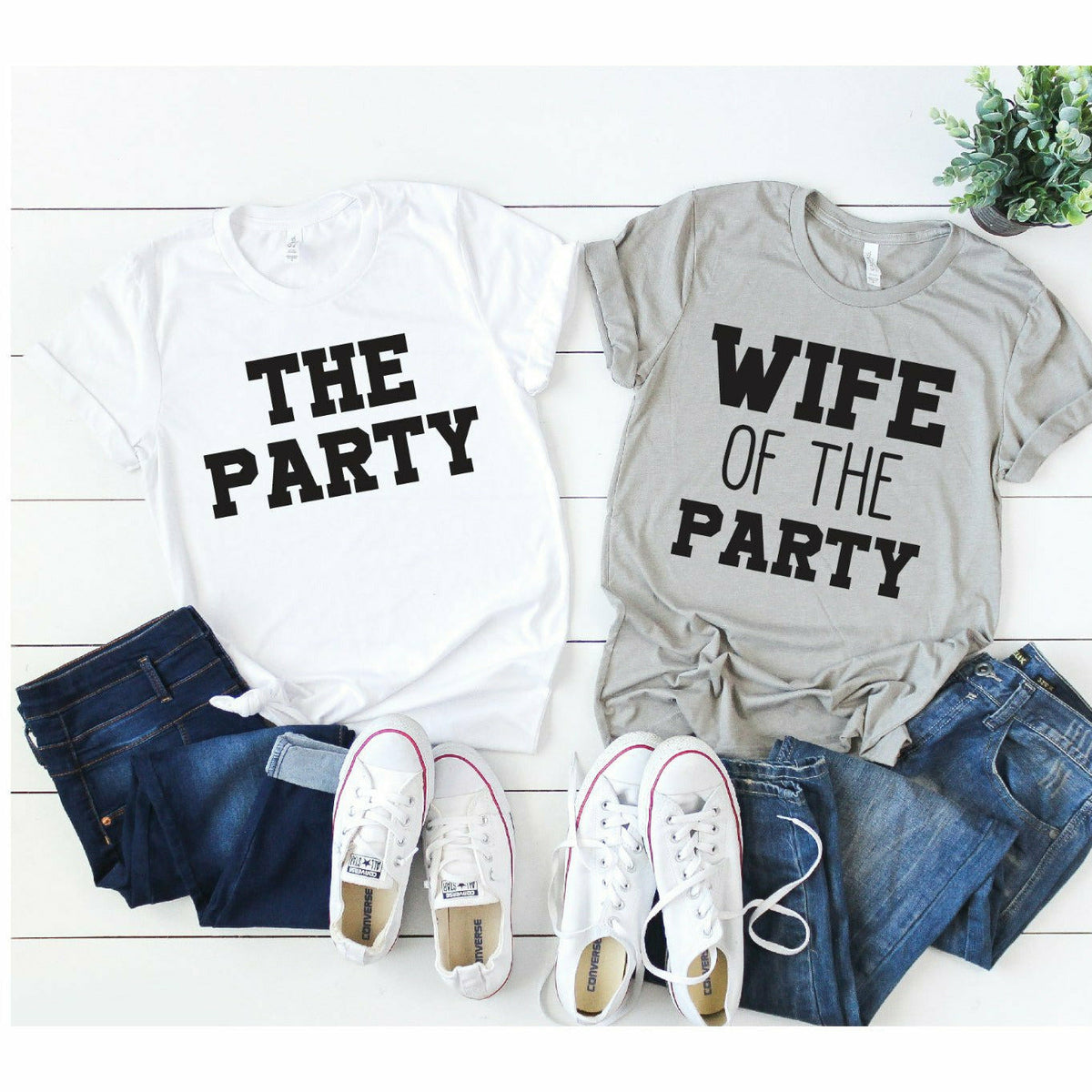 Wife of the party or party tee
