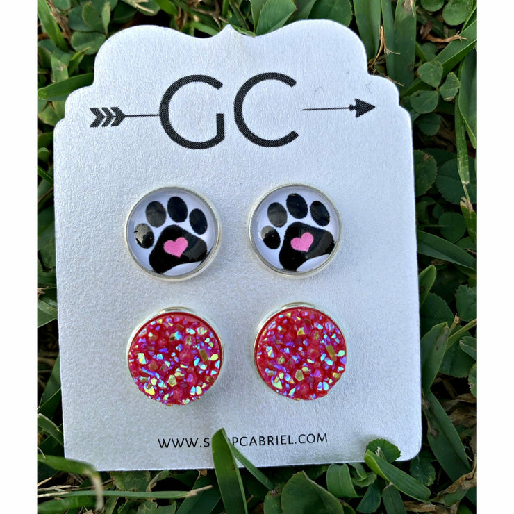 Paw Parent Earring set