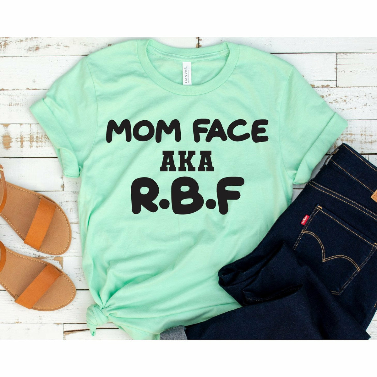 mom face aka rbf tee