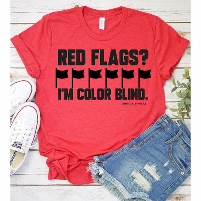 Red Flags tee