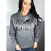 life happens beer helps bottle opener hoodie