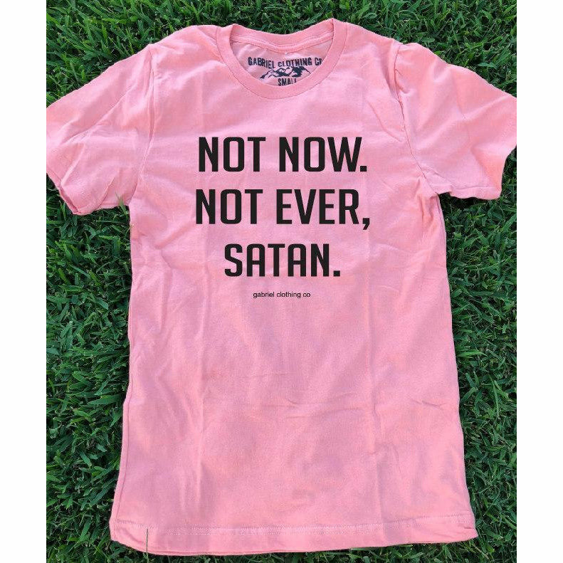 Not Now. Not Ever, Satan Tee