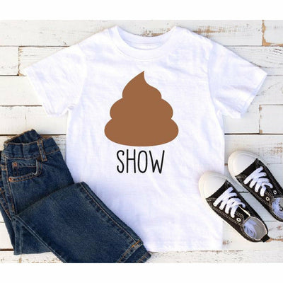 Shit Show Kids or Adult Tee