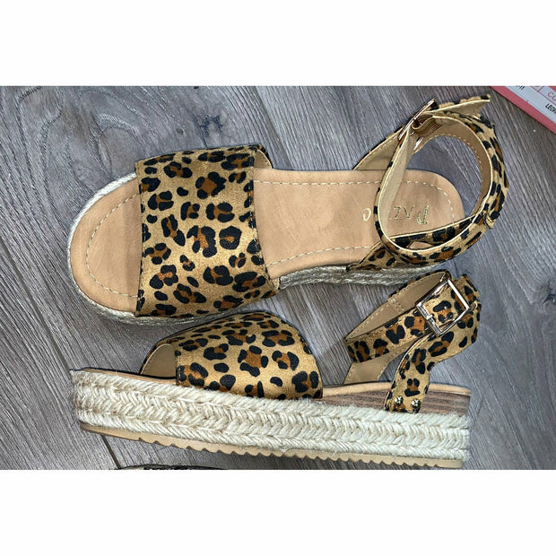 Wild as You Cheetah Wedges