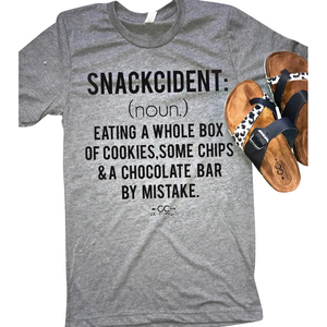Snackcident tee - Gabriel Clothing Company