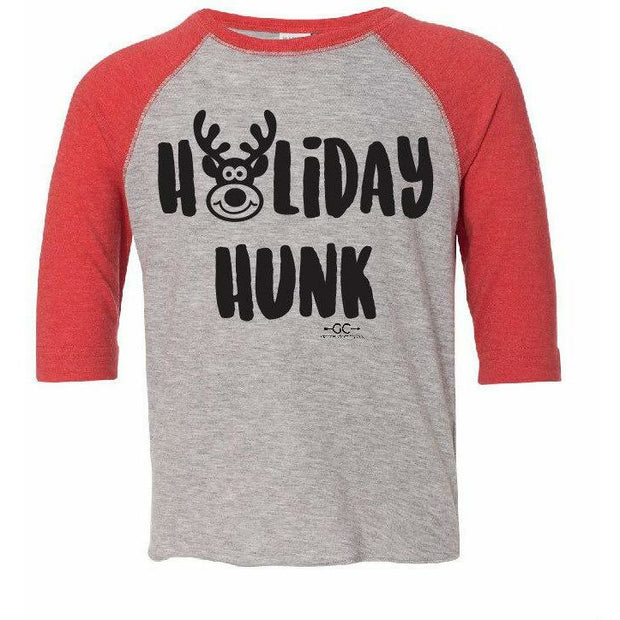 Holiday Hunk Kids Tee - Gabriel Clothing Company