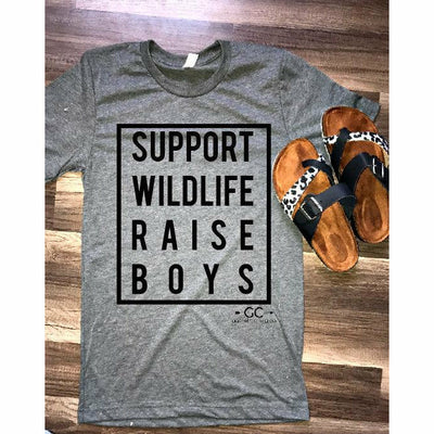 Support Wildlife Raise boys - Gabriel Clothing Company