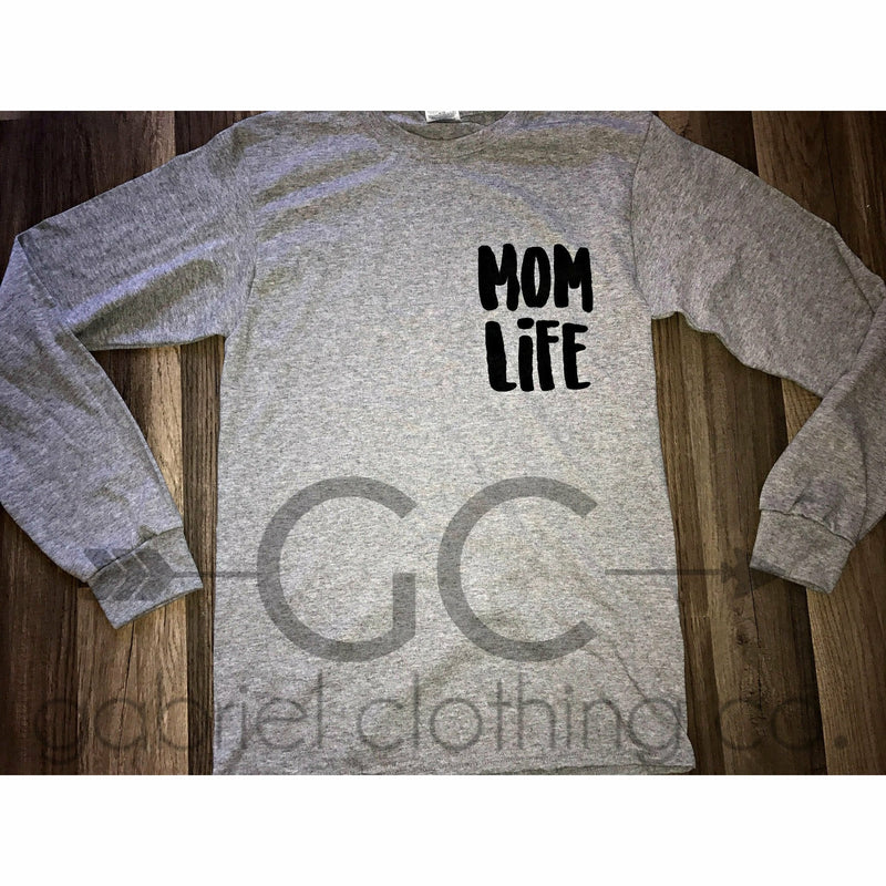 Mom Life Long Sleeve