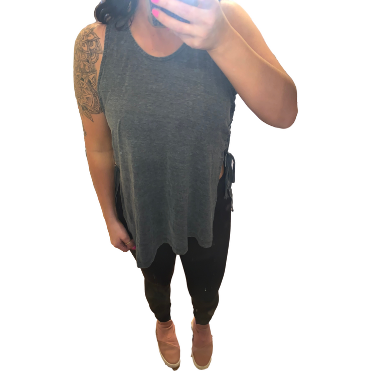 Side Tie Tank Top (more colors)