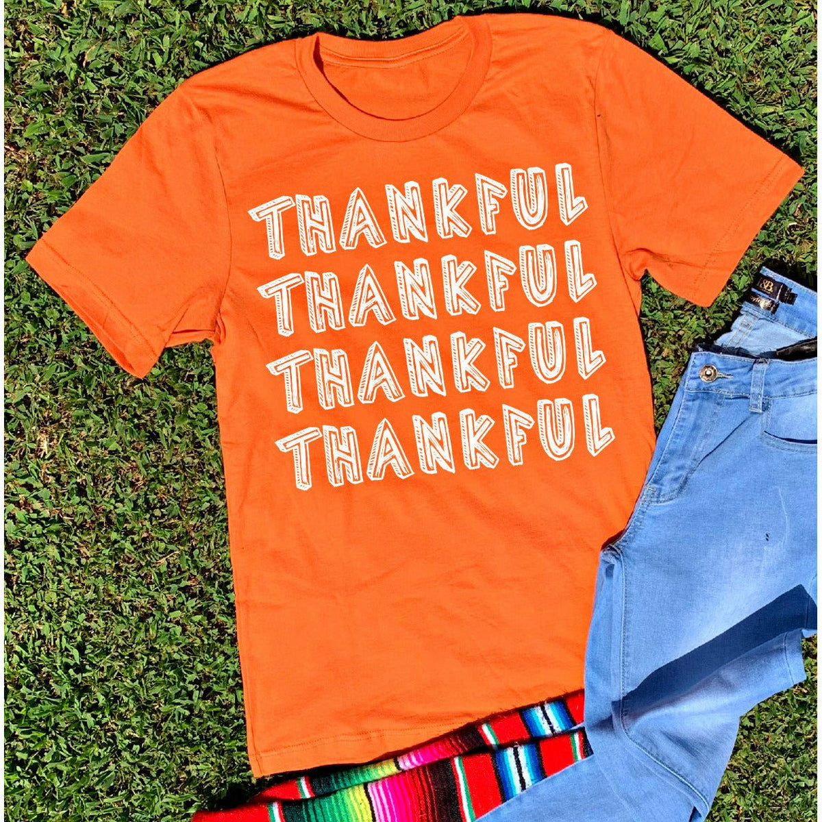 Thankful Repeat Tee