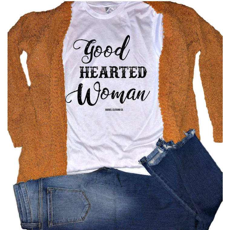 Good Hearted Woman Tee - Gabriel Clothing Company