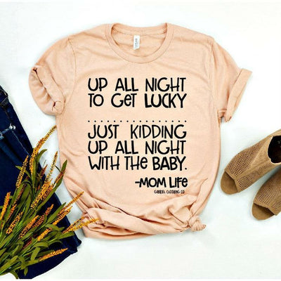 Up All Night to Get Lucky Tee