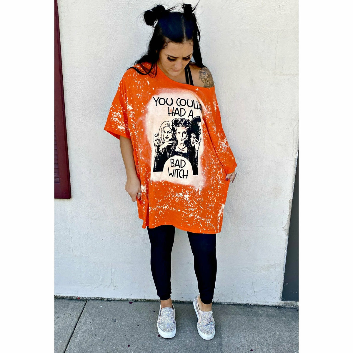 Bad Witch T-shirt Dress